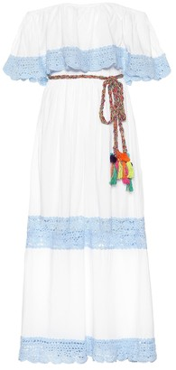 Anna Kosturova Santorini cotton dress