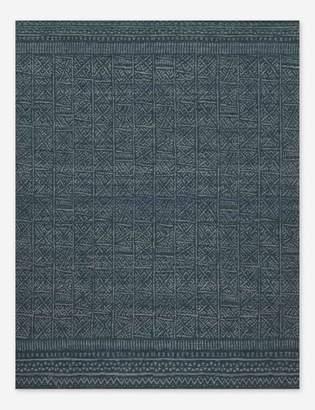 ED Ellen Degeneres Tribu Rug, Indigo, Crafted by Loloi
