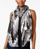 INC International Concepts Zigzag Wrap and Scarf in One, Created for Macy's