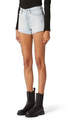 Hudson Cara High Waist Cutoff Denim Shorts