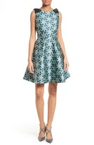 Ted Baker Women's Sainte Kaleidoscope Faille Fit & Flare Dress