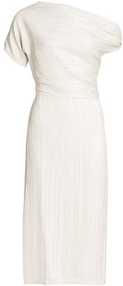 Rachel Comey Asti Sequin Blouson Midi Dress