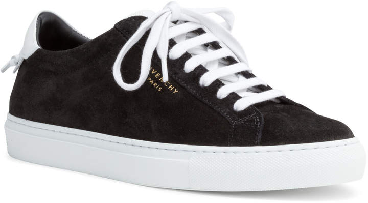Givenchy Urban Street Black Suede Sneakers