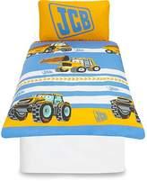 JCB Reversible Duvet Cover - Toddler