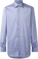 Kiton button-up shirt - men - Cotton - 39
