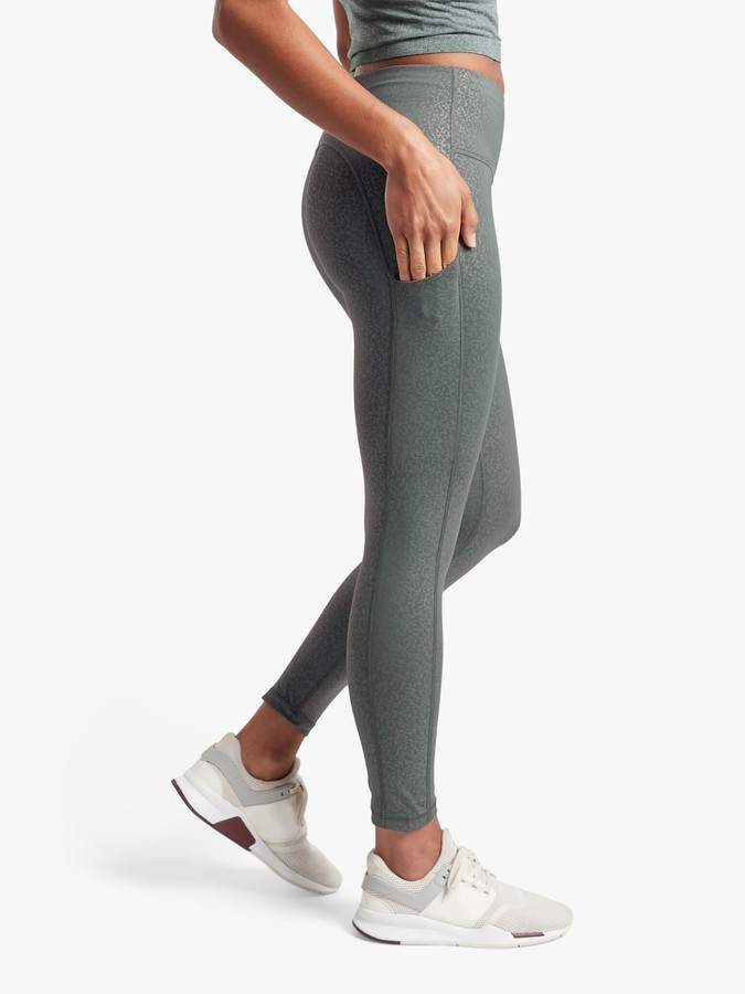Athleta Ultimate Stash Pocket Embossed Cosmos Tights