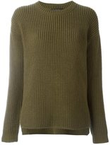 Odeeh chunky knit sweater