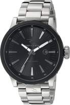 Rip Curl Men's A2832-BLK Recon Analog Display Analog Quartz Silver Watch