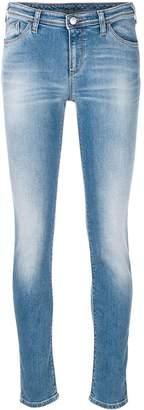 Emporio Armani faded skinny jeans