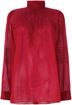 Valentino high neck blouse