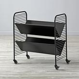 Eric Trine Linear Black Book Cart