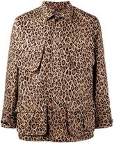 Uniform Experiment - leopard print jacket - men - Cotton - 1