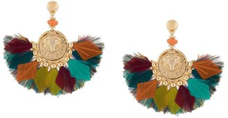 Gas Bijoux Gaia feather earrings