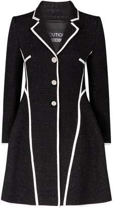 Moschino Tweed Princess Coat