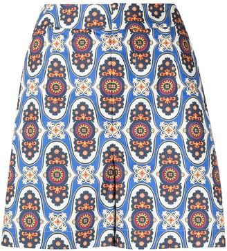 La DoubleJ Geometric Tailored Shorts
