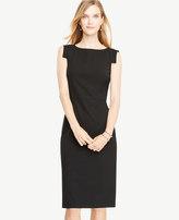 Ann Taylor Seasonless Stretch Boatneck Sheath Dress