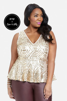Fashion to Figure Crush On Sequin Top