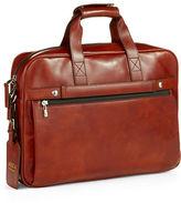 Bosca Single Gusset Messenger Bag