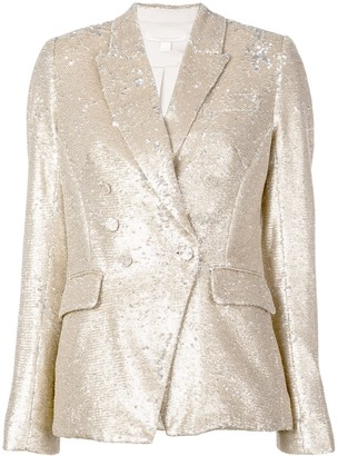 Jonathan Simkhai sequin double breasted blazer