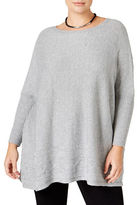 Style And Co. Plus Cable-Hem Sweater