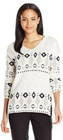 Sanctuary Women's Winters Tale Baja Sweater