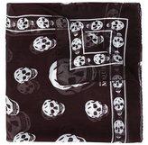 Alexander McQueen 'Skull' scarf - unisex - Silk - One Size