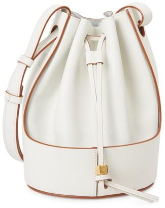 Loewe Small Balloon Leather Bucket Bag