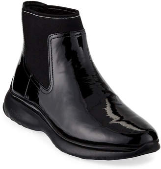 Cole Haan 3 Zerogrand Patent Leather Chelsea Boots