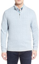 Tommy Bahama Men's 'Harbor Walk' Quarter Zip Pullover Sweater
