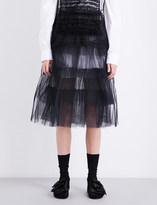 Simone Rocha Layered tulle midi skirt