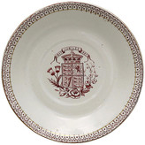 One Kings Lane Vintage 1897 Queen Victoria Jubilee Nut Dish - THE QUEENS LANDING - off-white/brown