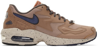 Nike Tan Air Max 2 Light LX Sneakers