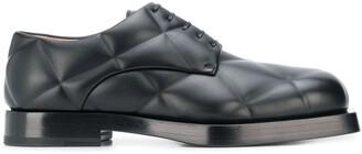 Bottega Veneta quilted Derby shoes
