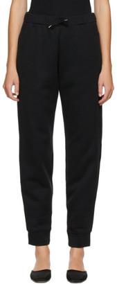 Totême SSENSE Exclusive Black Silk Lounge Pants