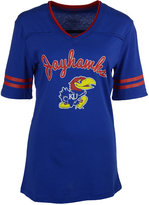 Colosseum Women's Kansas Jayhawks Fair Catch T-Shirt