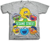 Freeze Heather Gray Sesame Street Tee - Toddler