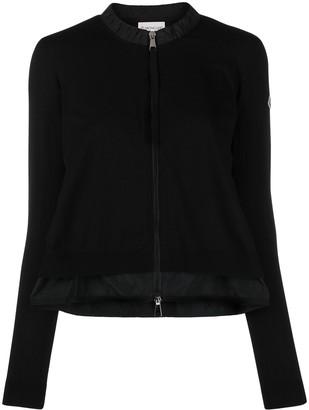 Moncler A-line zip-front cardigan