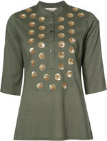 Figue 'Jasmine' tunic - women - Cotton/Sequin - M