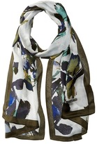Vince Camuto Fancy Floral Oblong Scarf Scarves