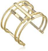 House Of Harlow Defined Deco Cuff Bracelet
