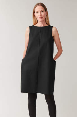 Cos WOOL-MIX DRESS WITH POCKETS