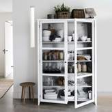 The White Company Glass Display Cabinet