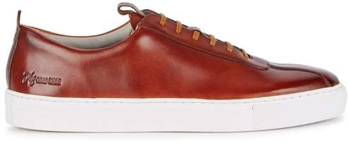 Grenson Sneaker 1 Brown Leather Trainers