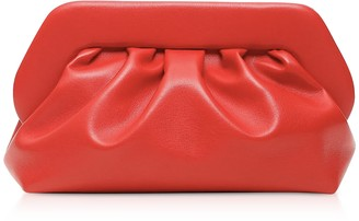 Themoiré Red Eco-Leather Pouch Bag