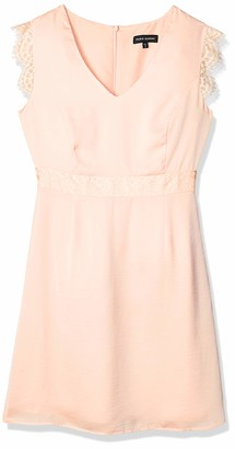 Paris Sunday Women's Lace Cap Sleeve A-line Dress