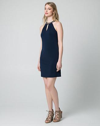 Le Château Knit Halter Tunic Dress