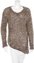 Helmut Lang Knit Long Sleeve Sweater