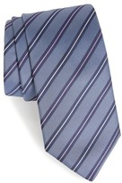 HUGO Men's Boss Stripe Silk Tie