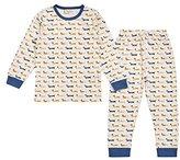 Sense Organics Boy's Long John Pyjama Set