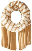 Lauren Ralph Lauren Boiled Wool Stripe Blanket Scarf